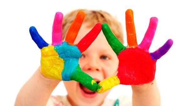 curso de niños de manualidades en ingles