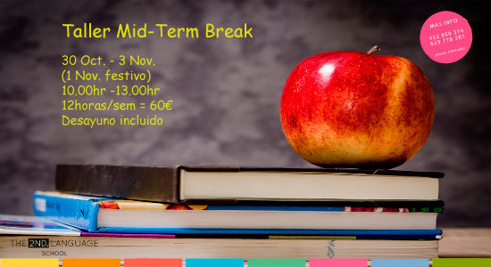 taller para niños mid-term break